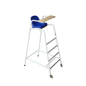 chaise d'arbitre en acier galvanisé / en PVC / ergonomique