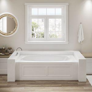 baignoire en acrylique / hydromassage