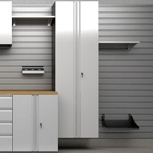 armoire de stockage pour garage / professionnel