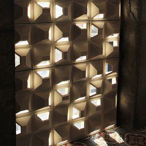 bloc de béton creux / pour mur / pour cloison / pour mur de refend