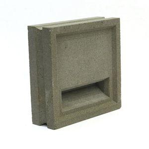 bloc de béton creux / décoratif / pour mur / pour cloison