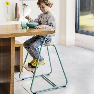chaise haute évolutive / en bois / en métal