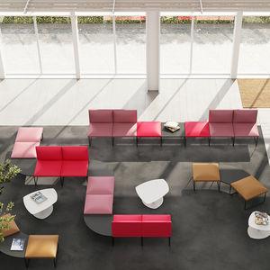 canapé modulable / d'angle / contemporain / d'accueil