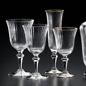 flûte à champagne en verre soufflé / professionnelle