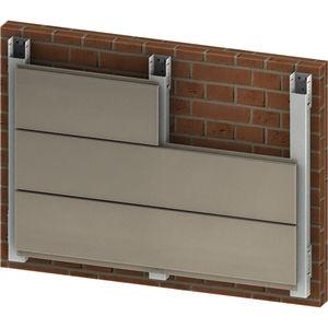 façade ventilée en aluminium
