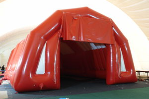 structure gonflable pour installation sportive