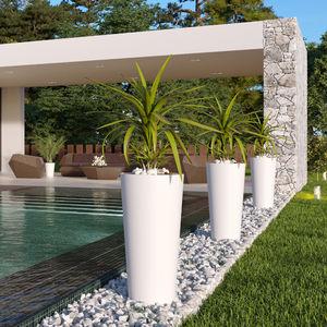 pot de jardin en polypropylène / rond / en hauteur / résidentiel