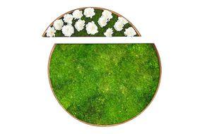 tableau végétal stabilisé / en mousse boule / floral / d'intérieur
