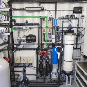 filtre pour station d'épuration