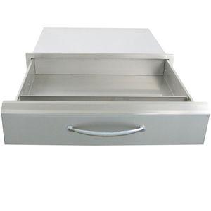 tiroir pour cuisine de jardin