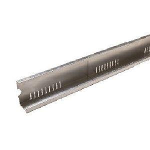 profilé en aluminium perforé