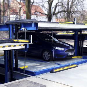système de stationnement avec plate-forme
