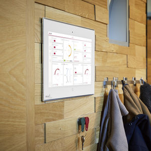 écran tactile pour système domotique / pour installation immotique / pour système multimédia / encastrable