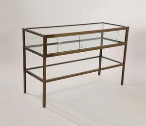 vitrine table contemporaine