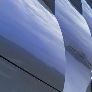 bardage en panneaux / en aluminium / en composite / réfléchissant
