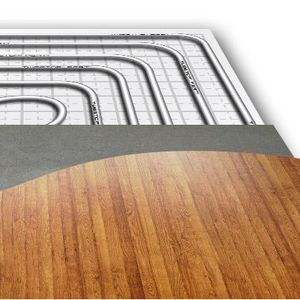 chauffage au sol à eau chaude / résidentiel