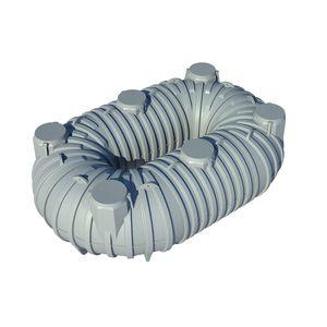 citerne flexible / de stockage d'eau / en plastique