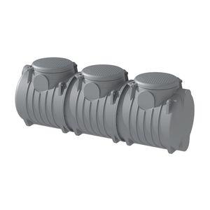 cuve enterrée / de récupération d'eau de pluie / en polyéthylène