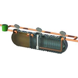 station d'épuration de eau de pluie / avec filtre