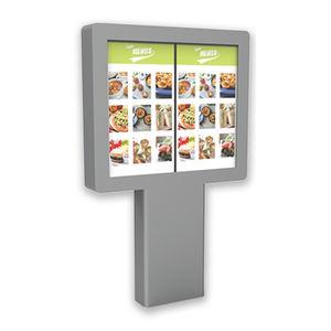 kiosque interactif pour restaurant