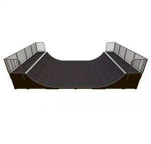mini rampe pour skatepark / en asphalte / en béton
