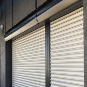 volets roulants / en PVC / pour fenêtres / avec moustiquaires