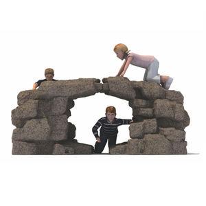 rocher d'escalade pour aire de jeux