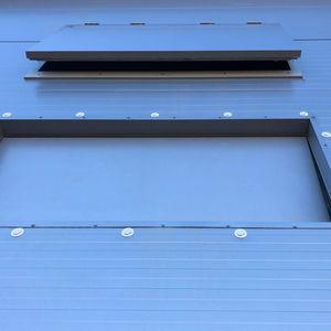 portes industrielles de ventilation