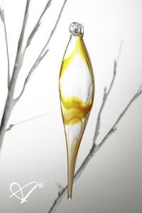 décoration pour arbre de Noël en verre soufflé