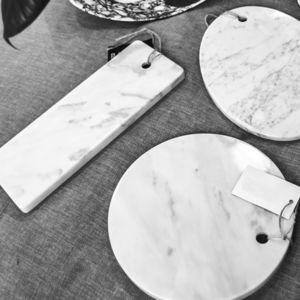planche à découper en marbre de Carrare