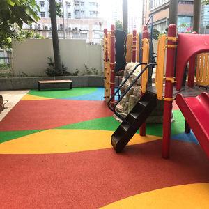 revêtement de sol pour aire de jeux