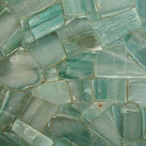 plaque de pierre en pierre semi-précieuse