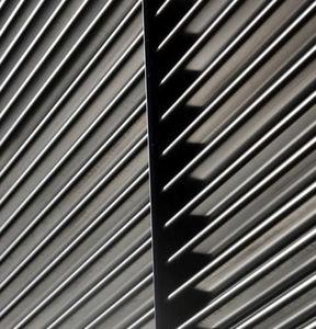 bardage à profil à emboîtement / en acier inoxydable / en acier galvanisé / en zinc-aluminium