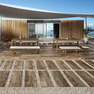 carrelages pour plages de piscine / de jardin / de sol / en grès cérame