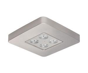éclairage de secours de plafond / carré / à LED / en aluminium