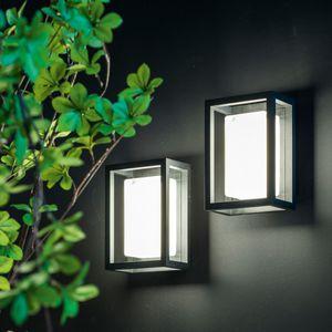luminaire en saillie / à LED / rectangulaire / d'extérieur