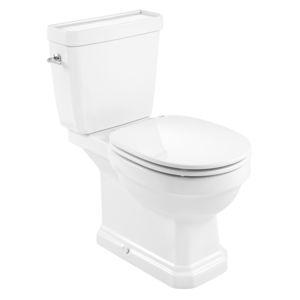 toilettes à poser / en céramique / avec manette / sans bride