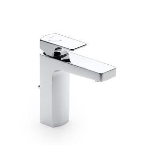 mitigeur pour vasque / sur plan / intégré / en métal chromé