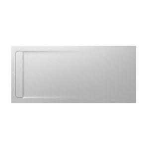 bac à douche rectangulaire / en pierre / extra plat / antidérapant