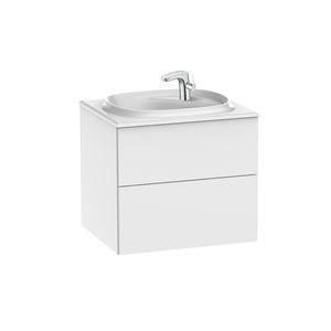 meuble vasque suspendu / aggloméré / contemporain / avec tiroirs