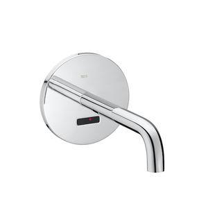 mitigeur pour vasque / à encastrer / en métal chromé / électronique