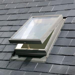 fenêtre de toit à projection / en aluminium / à double vitrage