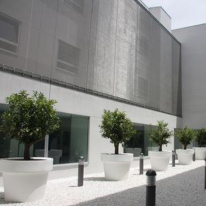 maille métallique pour façade