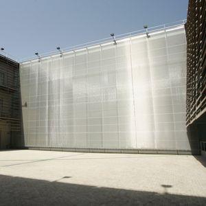 toile métallique tissée pour façade