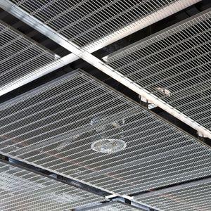 faux-plafond en inox