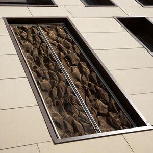 grille métallique pour agencement intérieur / pour plafond / pour brise-soleil / en acier inoxydable