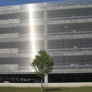 maille métallique pour façade / pour bardage / en acier inoxydable / à maillage long