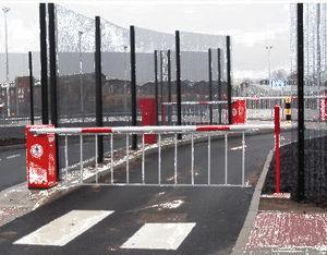 barrière de contrôle d'accès