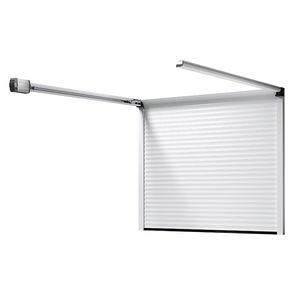 portes de garage sectionnelles / enroulables / en aluminium / en mousse de polyuréthane