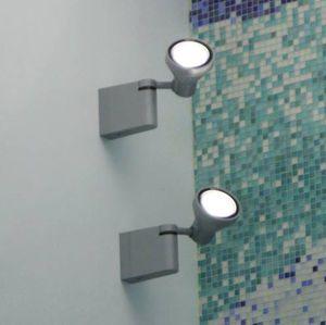 spot mural / d'extérieur / à LED / à iodures métalliques
